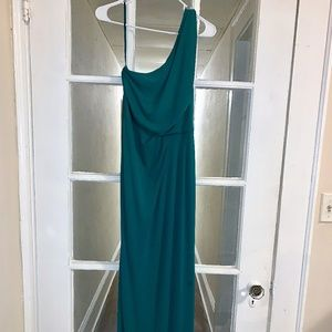 BCBG Green Gown